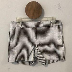 Dressy stripe shorts